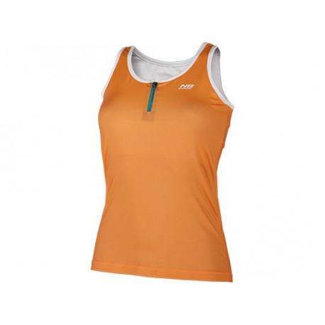 08c66e25c32 Camiseta de tirantes de pádel Enebe Sunset (naranja)