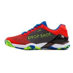 ZAPATILLA DROP SHOT CONQUEROR TECH RED
