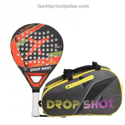 Pack Drop Shot Conqueror Soft 2017 + Paletero Silex