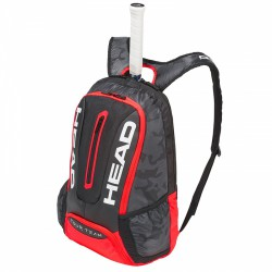 Mochila Head Tour Team BackPack Negra/Roja 2018