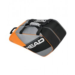Paletero Head Elite Padel Supercombi Naranja/Gris
