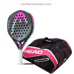 Pack Head Graphene Touch Omega Motion 2017 + Paletero Head Tour Team Navy/Pink